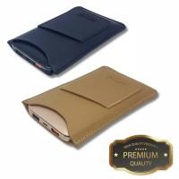 premium Leather pouch for ACMIC power bank A10PRO / C10PRO - Biege