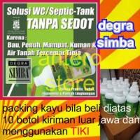 degra simba solusi wc/septic tank mampet/penuh tanpa harus disedot