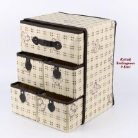 New Sale Kotak Serbaguna 5 Laci Bear Kotak (Kotak Utk Tempat Pakaian
