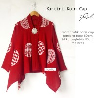 BLOUSE KARTINI KOIN CAP