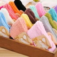 kaos kaki winter warm tebal hangat socks musim dingin thick fluffy