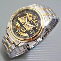 jam tangan pria rolex rantai automatic