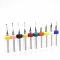 10pcs 0.1mm to 1mm PCB mini drill Bit tungsten steel carbide for PCB,C