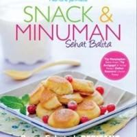 Buku Resep Makanan dan Minuman - Snack dan Minuman Sehat Balita
