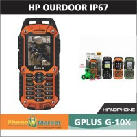 Gplus - XG10 Handphone Outdoor free spinner- ORANGE
