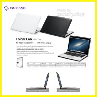 CAPDASE Case TEBAL MacBook Pro 15inch Apple Mac 15 Folder Casing Lama