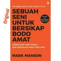 Buku Sebuah Seni untuk Bersikap Bodo Amat Mark Manson