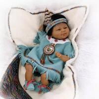 Boneka Reborn Negro Indian / Boneka Mirip Bayi NPK