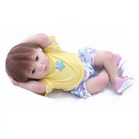 Boneka Reborn NPK Yellow Shirt/ Boneka Mirip Bayi