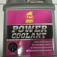 Air Radiator Power Coolant Top One 1 Merah 4 Liter Galon PROMO