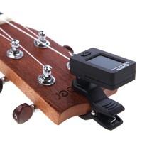 1AEF JOYO Tuner Gitar Rotatable 360 Degree - JT-01 - Black