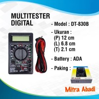 Multitester/Multimeter Digital DT-830B