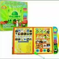 Mainan anak edukasi E-BOOK buku pintar 3 bahasa
