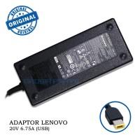 Adaptor Adapter Charger Lenovo 20V-6.75A 135W Colokan USB Ori adllnv14