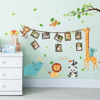 Wallsticker JBTR Jerapah Photo Frame Wallsticker Stiker Dinding