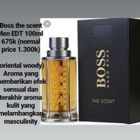 Bagus Parfum Pria Hugo Boss The Scent Edt 100Ml Original