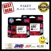 Gratis Ongkir Paket Tinta Hp 680 Black Dan Color Printer Hp Deskjet