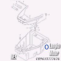 Box Bagasi Suzuki Nex Langka Motor SGP Suzuki Genuine Parts