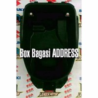 Box Bagasi Suzuki Address Langka Motor SGP Suzuki Genuine Parts