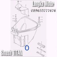 Box Bagasi Suzuki Smash Titan Langka Motor SGP Suzuki Genuine Parts