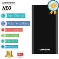 Murah Exclusive Power Bank Delcell Neo At Tokopedia Real Capacity