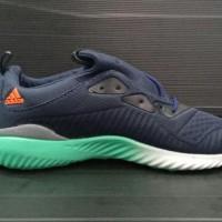Sepatu Sneakers Adidas Alphabounce Navy Hijau Men Cowok Pria 40-44 -