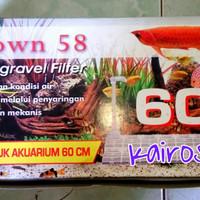 Undergravel Filter CROWN 58