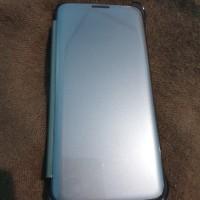 Clear View Cover Case Samsung Galaxy S7 Original ORI FlipCover