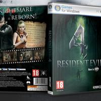 (GAME PC dan LAPTOP) 3kaset RESIDENT EVIL 4 REMAKE HD