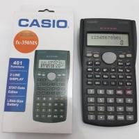 Kalkulator scientific Casio fx-350MS 2 line display STAT - Data Editor