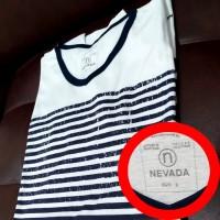 Kaos Polos Pria / T-shirt Unisex Lengan Pendek NEVADA ukuran M
