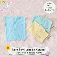 Baju Bayi Tanpa Lengan / Baju Kutung Baby Newborn Polos Warna