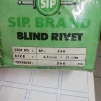 paku rivet 640/blind rivet merk sip