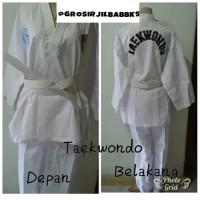 Baju Taekwondo Dewasa S M L XL