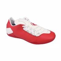 Sepatu Futsal Merah Putih Bahan Sintetis Brand Lokal Original