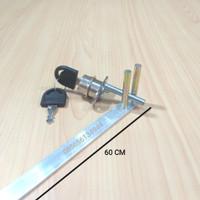 Kunci Sentral Depan Huben / Central Lock HL 288-19 / Drawer Lock