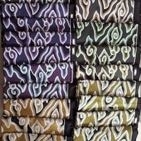 kain batik katun tulis motif mega mendung cirebon