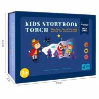 Mideer kids storybook torch mainan projector anak