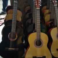 gitar klasik nilon ukuran 3/4 non jumbo