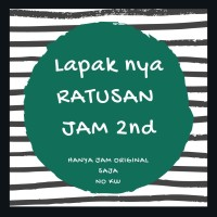 Jam original 2nd puluhan merk