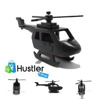 Miniatur Helikopter Kayu Ukuran Besar Souvenir Murah Koleksi Hiasan