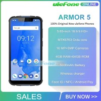 Ulefone armor 5 ram 4gb rom 64 gb IP68 wireless charging NFC