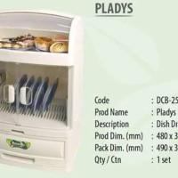 Rovega Pladys Rak Piring Plastik DCB-2568 (khusus Gojek/ Grab)