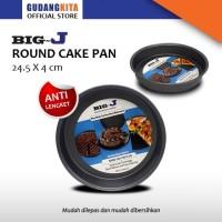 LOYANG KUE BULAT - ROUND CAKE PAN 9 INCH 4016 BIG J