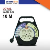 Kabel Roll 10 Meter Uticon - CR2810
