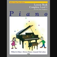 Lesson Book Complete 1 (1A/1B) Alfred's Basic Piano Library Alfred