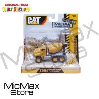 Diecast Alat Berat Caterpillar CAT Metal Machines CT660 Cement Mixer