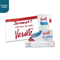 Verile Acne Gel + Verile Face Wash, Free pouch 1pcs