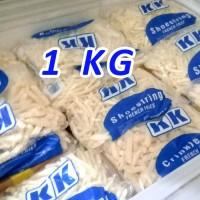 Kentang Goreng KK 1KG Shoestring Lebih Hemat Kualitas Import Belgia