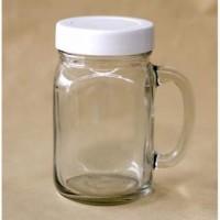 Gelas Harvest Jar dan Tutup/Gelas Jar/Gelas Mug/Gelas Kaca/Jar Glass